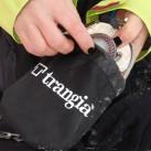 Gasbrenner verschwindet im mitgelieferten Packsack