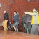 23 Boulder_Finale_Besichtigung der Finalboulder mit den Schraubern