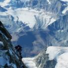 Bild 4: Thomas im alpinen Aufstieg