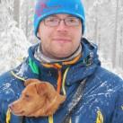 Percy: Am schönsten ist es, wenn meine Frau (nicht im Bild) und die Hunde dabei sind!
