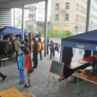 Suppenküche und Kundenflohmarkt