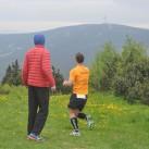 5. Etappe: Blick vom Fichtelberg zum Keilberg: Somit das nächste Etappenziel im Blick