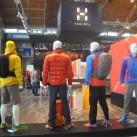 Nicht nur am Haglöfs-Stand bekam man zeitweilig das Gefühl, auf einer Wintermesse unterwegs zu sein - so viel Daunen- und Kunstfaserbekleidungsteile wurde einem vorgestellt