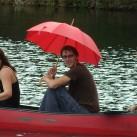 Das Leben kann so schön sein :) - Uwe beim Bergfilmfestival 2008