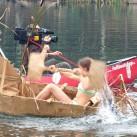 Pappbootrennen beim Bergfilmfestival 2008