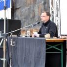 Ein immer gern gesehener Gast - auch für dieses Jahr angekündigt: Peter Brunnert auf dem Bergfilmfestival 2009