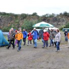 Traditionell am Sonntagmorgen - Los gehts zur alljährlichen Wanderung in die umliegenden Steinbrüche : Bergfilmfestival 2009