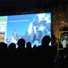 Der gong läutet den Filmabend ein - zum Bergfilmfestival 2012