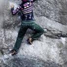und legere Schnitte beengen auch nicht beim Klettern.