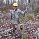 Auch bei Waldarbeiten - hier in Nova Scotia - macht der Yukon eine super Figur