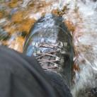 ... vorausgesetzt, man hat die Schuhe vorher sorgfältig gewachst!