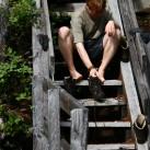 Strümpfe trocknen auf Vancouver Island