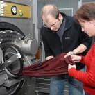 Qualitätsprüfung nach dem Waschvorgang (copyright - Mufflon)