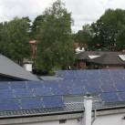 Solaranlage auf dem Fabrikgebäude (copyright - Mufflon)