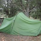 Power Lizard SUL: alle vorgesehenen Punkte sollten abgespannt werden, damit das Zelt ordentlich steht...