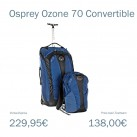 Osprey Ozone 70 Convertible: Überzeugt das leichte Verwandlungswunder auf langen Reisen?