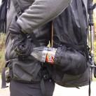 Flaschen können so positioniert werden, dass sie beim Laufen einfach greifbar sind