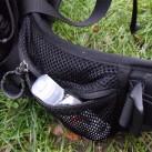 Praktische und geräumige Taschen am Hüftgurt