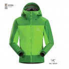 Gold Winner 2014 in der Kategorie Outer Layer 3L: Alpha Comp Jacket von Arc'teryx (Foto: ISPO 2014)