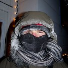 Es kann auch kalt werden...