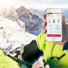 Winner Brandnew Award 2014 Kategorie Digital: uepaa - Sicherheitsapp made in Switzerland (Foto: ISPO 2014)