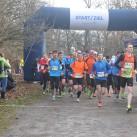 Start zur 5. Auflage des Leipziger Wintermarathons
