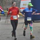 Wiederholungstäter: Team schritt-weise. Sie laufen auch immer so zusammen, da einer der Läufer blind ist