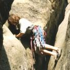 Und der Schuh hält am Fels - Und das schon ganz schön lange (1994 an der Unbenannten Spitze)