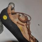 Patentiertes Schnürsystem für perfekten Sitz am Fuß