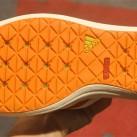 Wohlfühlklima im Schuh auch beim Wassersport - dank der speziell 'perforierten' Sohle