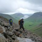 Unterwegs im Lake District - bei Wind und Wetter, über Stock...