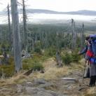 Auf Testtour im Isergebirge - beide mit einem Perfekt am Fuß