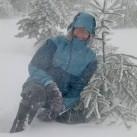 Auf Testtour im Isergebirge: Die Crocodiles und der Perfekt halten den Schnee gut draußen