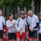 Das tapir cycling team in seiner vollen Zielschönheit