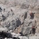 Leitern helfen schnell und unkompliziert, Steilstufen zu überwinden