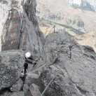 Klassiker unter den schweren Dolomiten-Steiganlagen: Via Ferrata delle Trincee