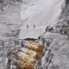 Kein schwerer Steig ist der Alpini-Steig, aber mit Schneeresten ist immer zu rechnen