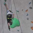 Schon fast wie Klettern am Naturstein: Stemmen, Gegenhalten, Füße langsam weiter hochsetzen