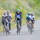 Die letzten Kilometer der 125km-Runde werden bezwungen.