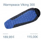 Viking II 300 von Warmpeace: Sommerschlafsack aus Entendaune