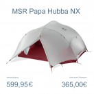 Papa Hubba: leichtes 4 Personenzelt von MSR