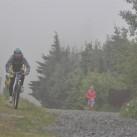 Seltsam im Nebel zu wandern ... Gleiches gilt wohl auch für's Laufen und Radfahren