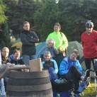 Kai-Uwe von den Elbtalflitzern hatte einen Grund zum Feiern und begründete es so: Es gibt Leute, die protokollieren ihre Laufkilometer...