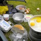 Frühstück in Irland  (Bild von Alex und Denny)