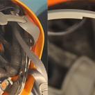 Helme: Einstellungsmöglichkeiten für den Kopfumfang - Klemmmechanismus