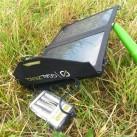 Das Guide 10 Solar Recharging Kit - zur Ausrichtung kann alles mögliche dienen