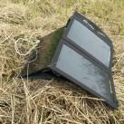 Das Sony Xperia Tablet Z bockt beim direkten Laden am Solarpanel