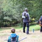 Outdoor-Bogenschießen: ganz traditionelle sowie hochmoderne Bögen werden geschossen (Foto: Steffi Hofmann)