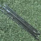 Die Winkel des DAC-Featherlite-Gestänges verlängern das Packmaß