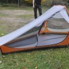 Das Innenzelt kann auch solo als Moskitonetz-Zelt verwendet werden